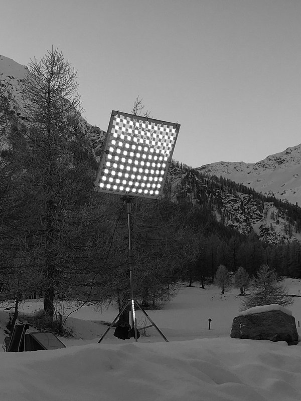 led studio light, LED Studiobeleuchtung Outdoor